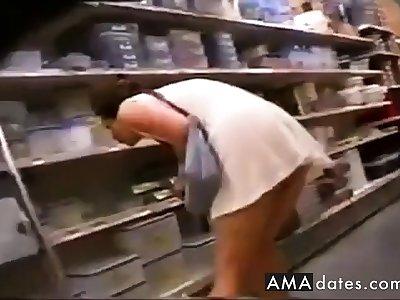 sans culotte au supermache
