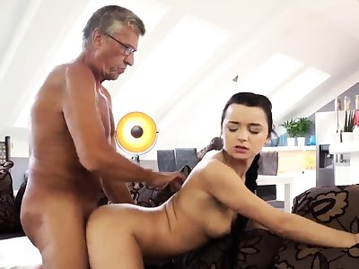 Brunette anal threesome bribe What would you choose -